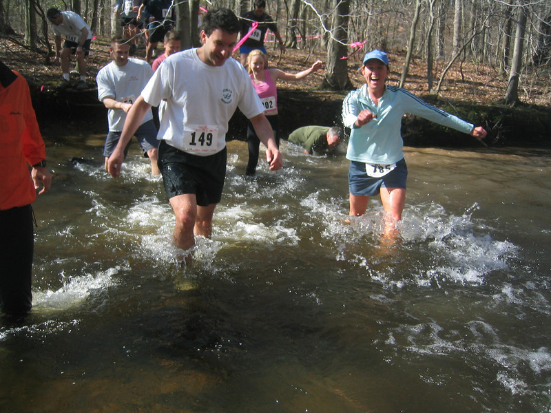 First water crossing in 2004
