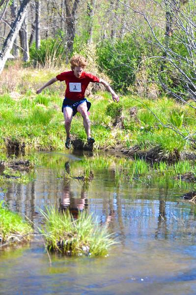Gerry Sullivan leaps into Splashdown at 2011 Loop. Photo by Michelle Blum.