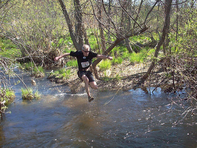 Tommy Nohilly crossing Splashdown in 2011. Photo by John Young.